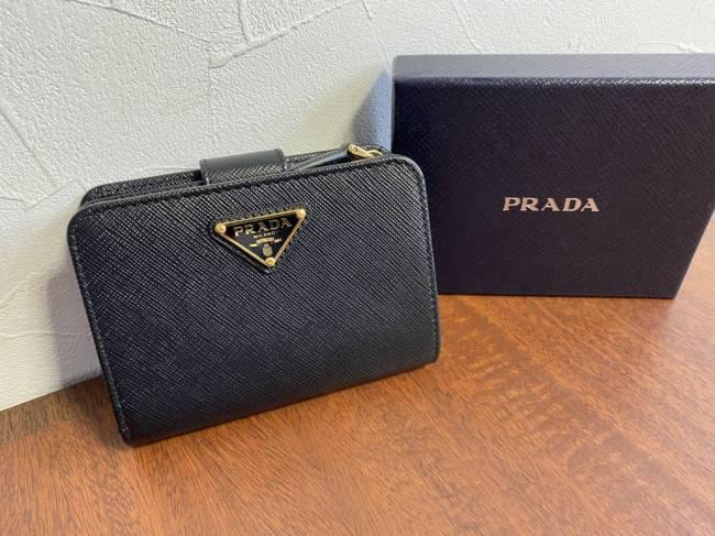 プラダ・サフィアーノ・コンパクト財布を買取|名古屋|名古屋昭和店