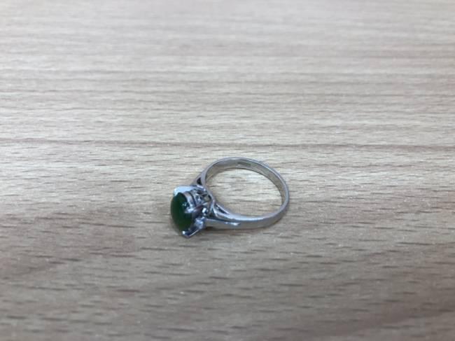 貴金属・Pt900・翡翠リングを買取|広島|広島祇園店
