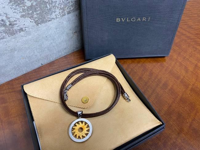 ブルガリ・トンドサン シルバー×ゴールド ネックレスを買取|神戸|兵庫店
