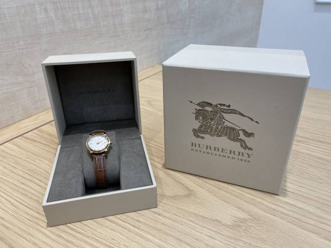 バーバリー・レディース腕時計を買取|埼玉|与野店