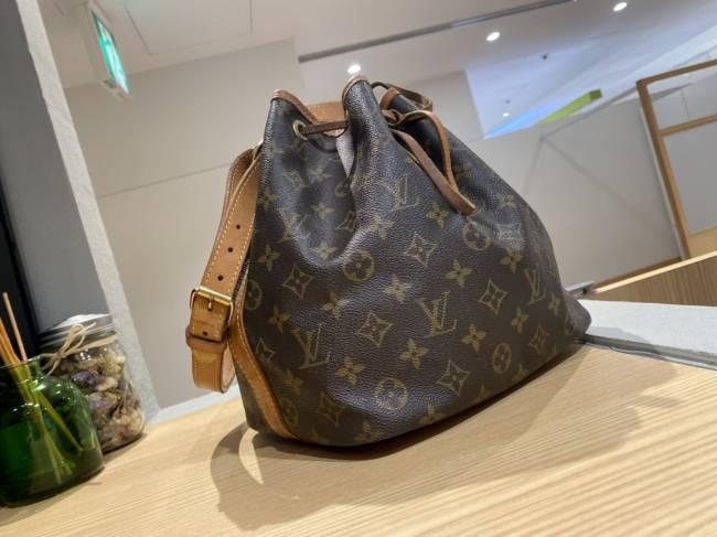 ルイヴィトン・モノグラムライン・プチノエ・巾着バッグ・M42226を買取|東京・台東区|上野マルイ店