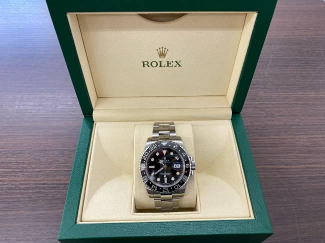 ロレックス・GMTマスターⅡ・116710LNを買取|姫路|加古川店