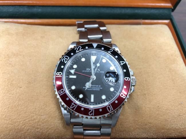 ロレックス・16710・GMTマスターⅡ・赤黒・U番を買取|所沢|所沢店