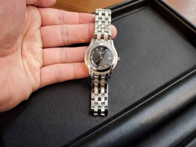 グッチ・5550L 時計を買取|岡崎|東岡崎店