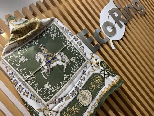 エルメス・カレ・LVDOVICVS MAGNVS・白い馬に跨ったルイ14世を買取 東京・台東区 上野マルイ店