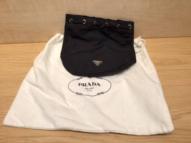 プラダ・ナイロン・巾着ポーチを買取 名古屋 ららぽーと名古屋みなとアクルス店