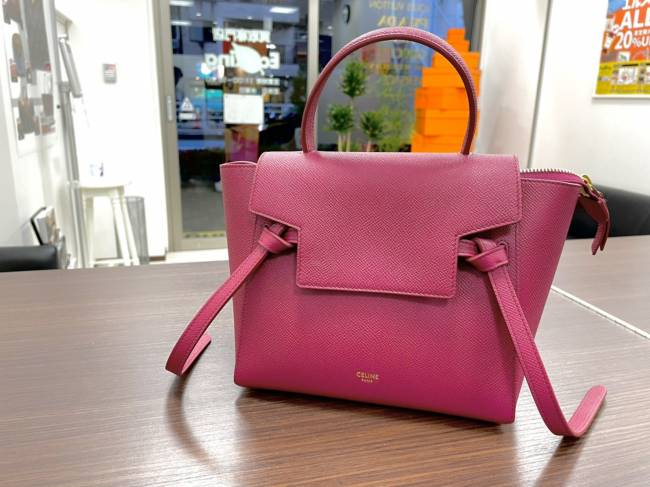 セリーヌ・ベルトバッグを買取|東京|広尾店