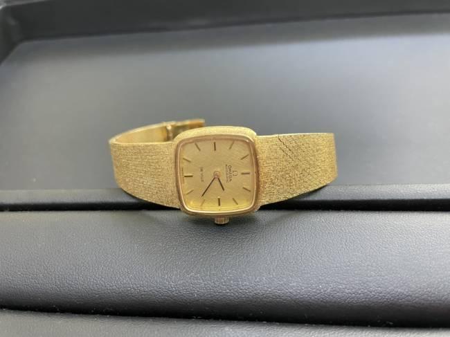 オメガ・デビル・K18・手巻き時計を買取|名古屋|名古屋西店