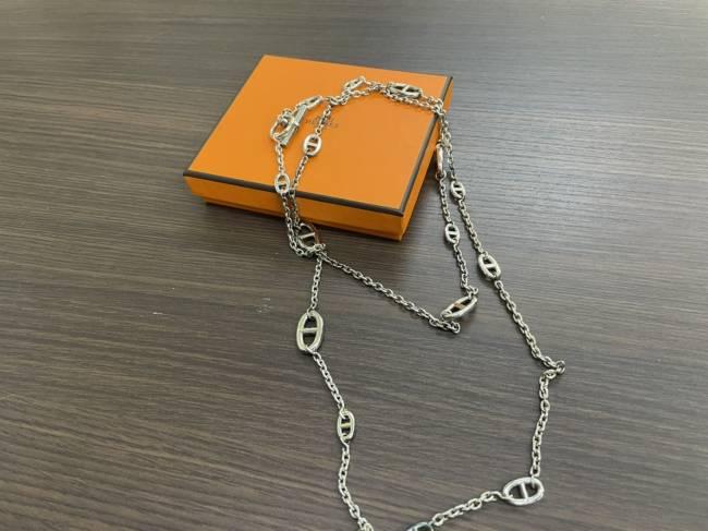 エルメス・シェーヌダンクル・ロングネックレスを買取 名古屋 名古屋西店