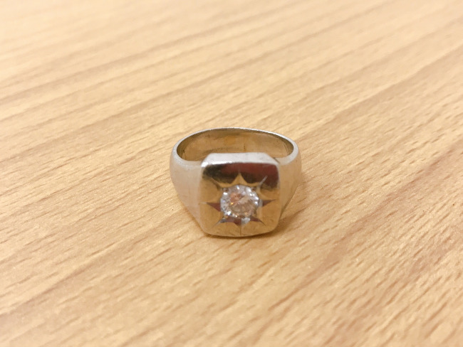 D0.75ct・リング・印台リング・PM900を買取|滋賀|守山店