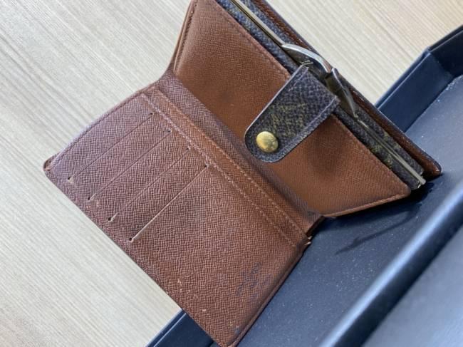 ルイヴィトン・モノグラム ポルトモネ ビエ ヴィエノワ がま口二つ折り財布・M61674を買取|所沢|所沢店