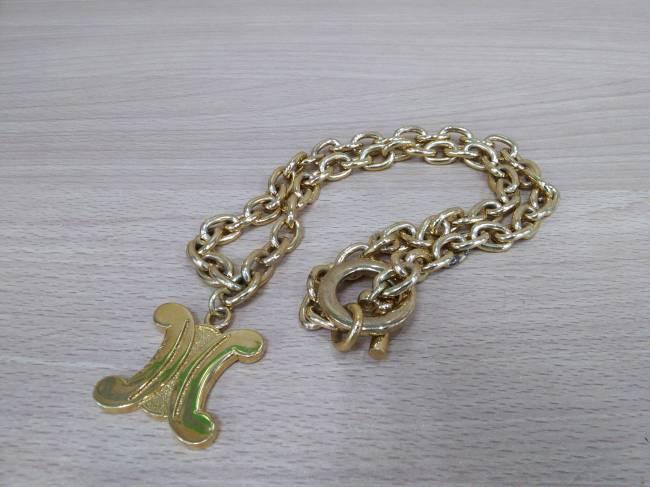 セリーヌ・ゴールドネックレスを買取|広島|広島祇園店