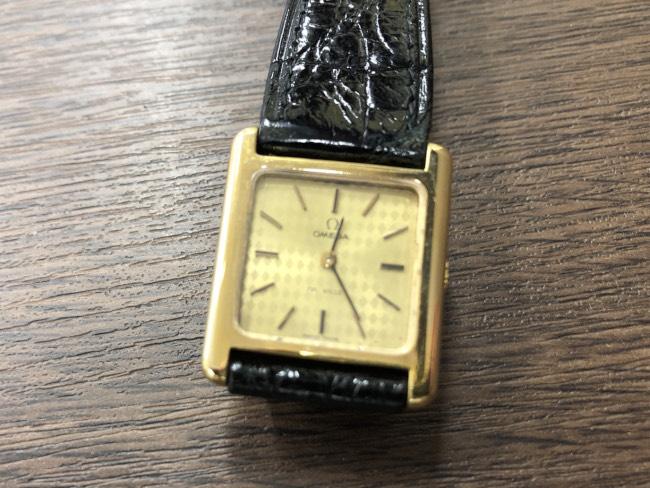 オメガ・デビル・手巻き腕時計を買取|東京・杉並区|荻窪店