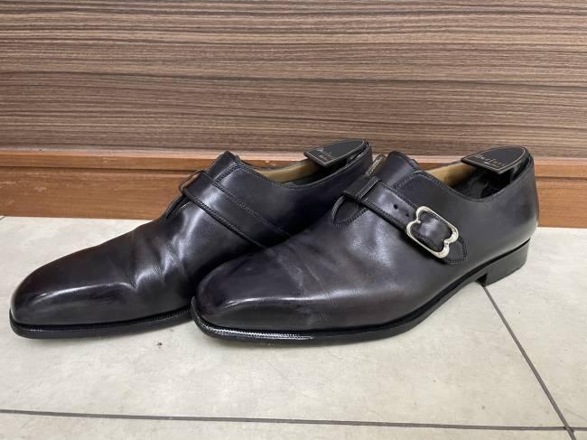 靴・ベルルッティ・シングルモンク・シューズを買取 船橋 船橋店