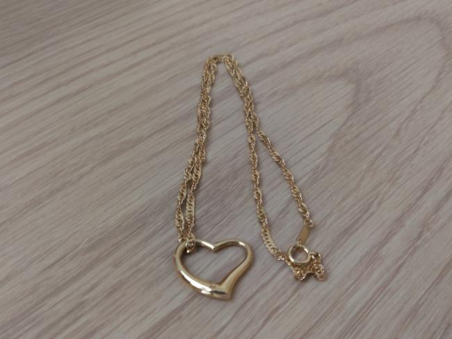 貴金属ネックレス・K18・ハートトップ・ネックレスを買取|大阪|茨木店