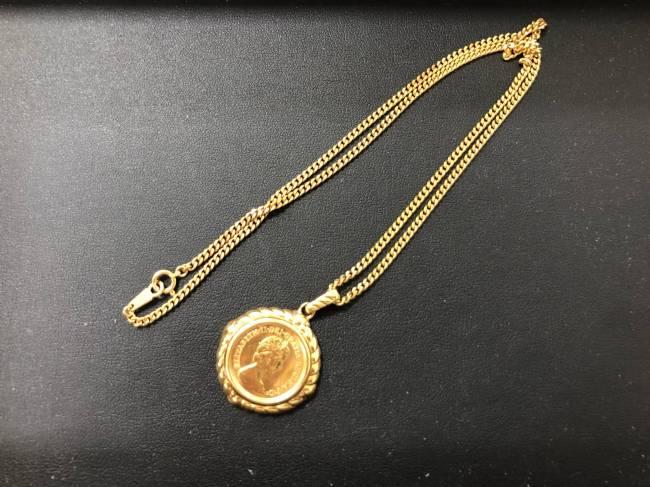 貴金属・コイントップネックレスを買取|福岡|新宮和白通り店