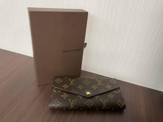 ルイヴィトン・モノグラム・ポルトフォイユサラ・長財布・M60531を買取|梅田|塚口店