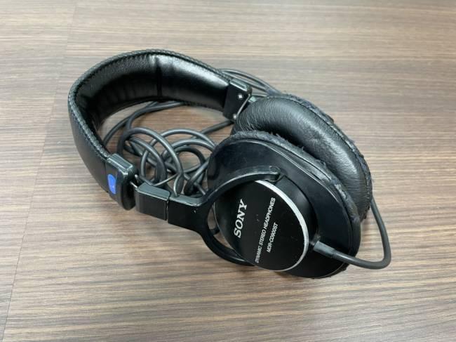 家電・密閉型スタジオモニターヘッドホン・MDR-CD900STを買取|梅田|塚口店