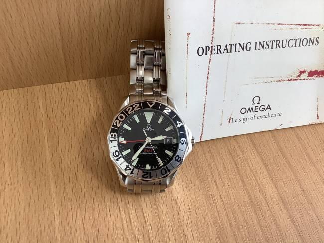 オメガ・シーマスター・GMTを買取|奈良|学園前登美ヶ丘店