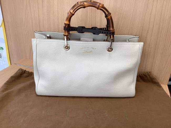 グッチ・バンブー・2Wayトートバッグを買取|奈良|学園前登美ヶ丘店