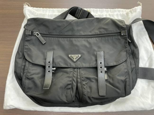 プラダ・ナイロン・ショルダーバッグを買取|名古屋|名古屋西店