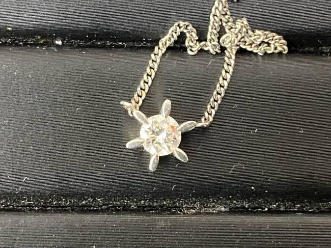 ダイヤ・Pt850 D0.317 ネックレスを買取|神戸|兵庫店
