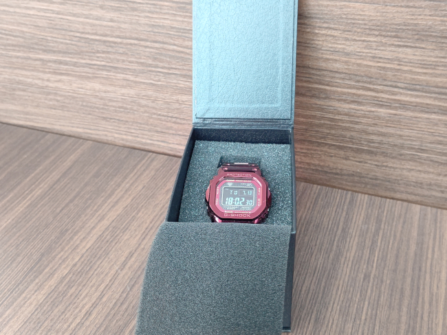 G-SHOCK・GMW-B5000RD-4JFを買取|名古屋|名古屋徳重店