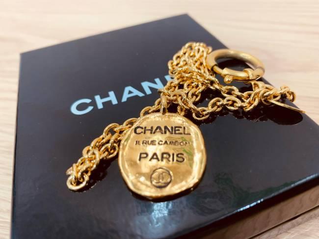 シャネル・ゴールドプレートネックレスを買取|滋賀|草津店