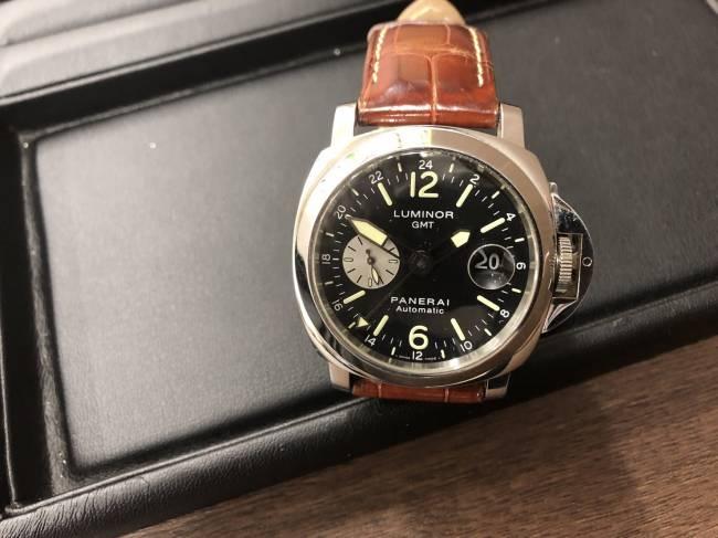 パネライ・パネライ・ルミノールGMT・自動巻き腕時計・PAM00088を買取|東京・杉並区|荻窪店