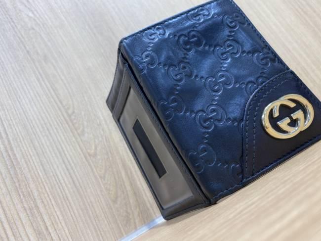 グッチ・シマ・定期入れ・カードケース・レザー・GGを買取|所沢|所沢店