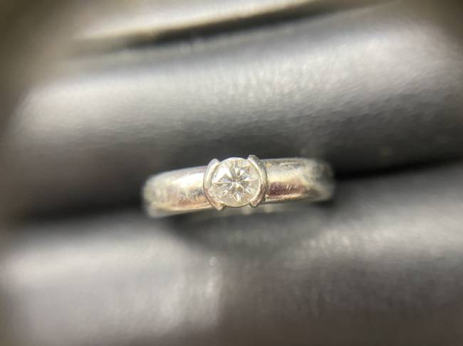 貴金属・金・プラチナ・ダイヤモンド0.52ct・リングを買取|船橋|津田沼店