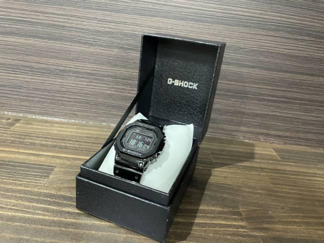 カシオ・G-SHOCK・フルメタル・GMW-B5000GD-1JFを買取|梅田|塚口店