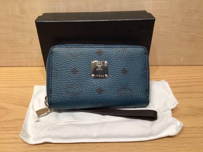 MCM・ラウンド財布を買取|名古屋|ららぽーと名古屋みなとアクルス店