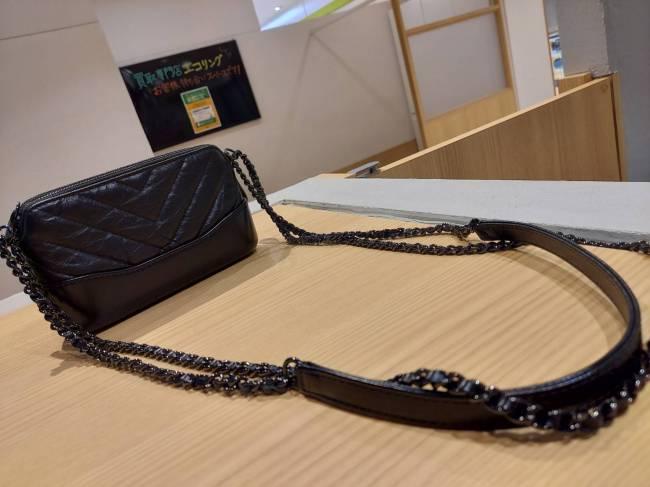 シャネル・2WAY・レザー・チェーン・ショルダー・クラッチを買取 東京・台東区 上野マルイ店