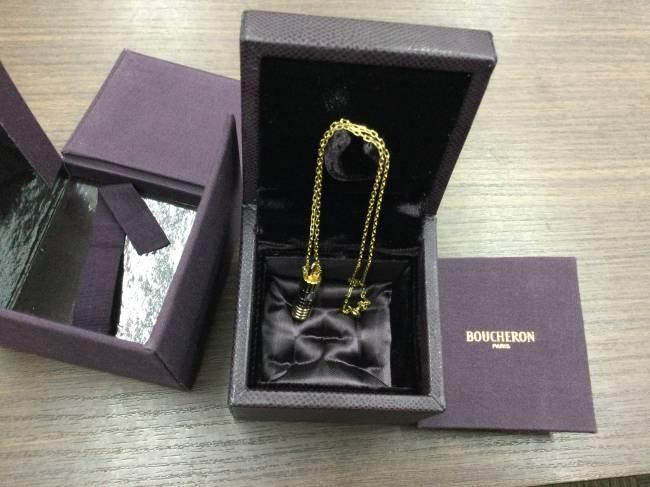 ブシュロン・キャトル・ネックレス・750を買取|東京|葛西店