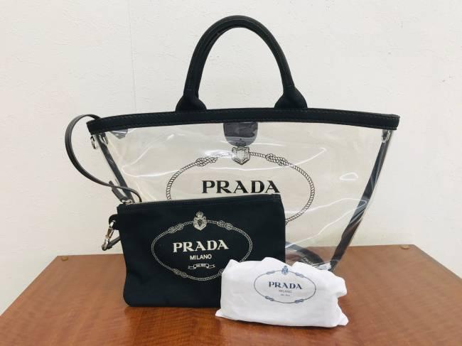 プラダ・プレックス・ファブリック・2WAYを買取 大阪 伊丹店