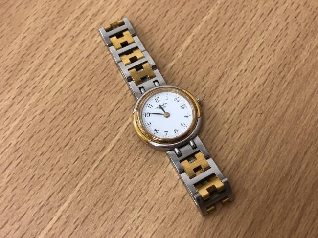 エルメス・クリッパー・プレオウンド・レディース・腕時計を買取|滋賀|守山店