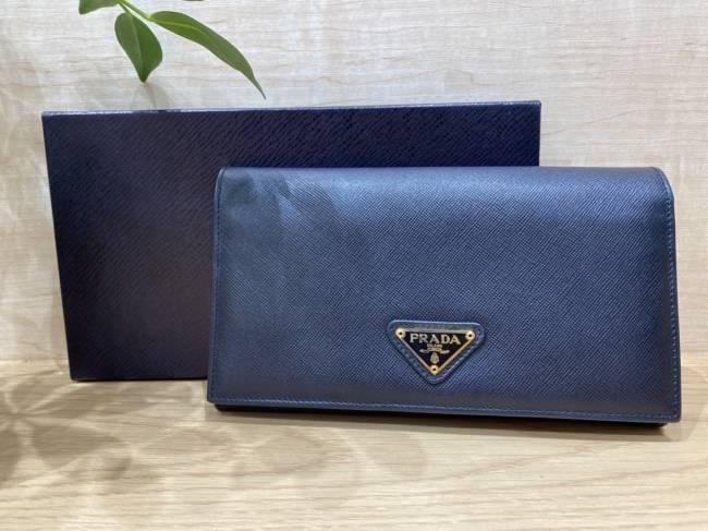 プラダ・長財布・M608を買取 堺 ジョルノ堺東店
