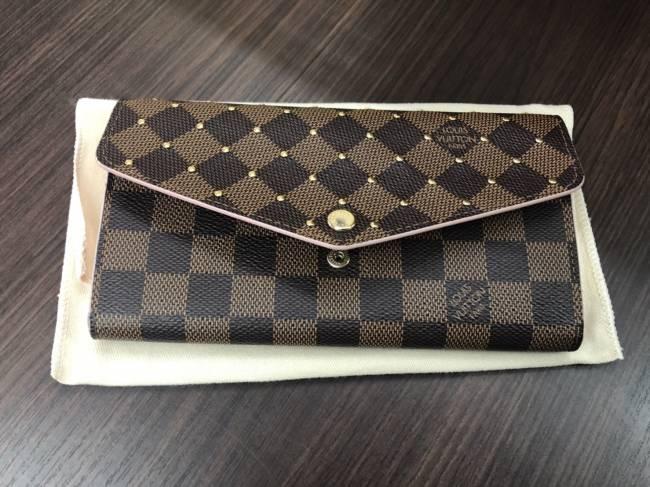 ルイヴィトン・ダミエ・サラ・スタッズ財布・N60476を買取|横浜|たまプラーザ店