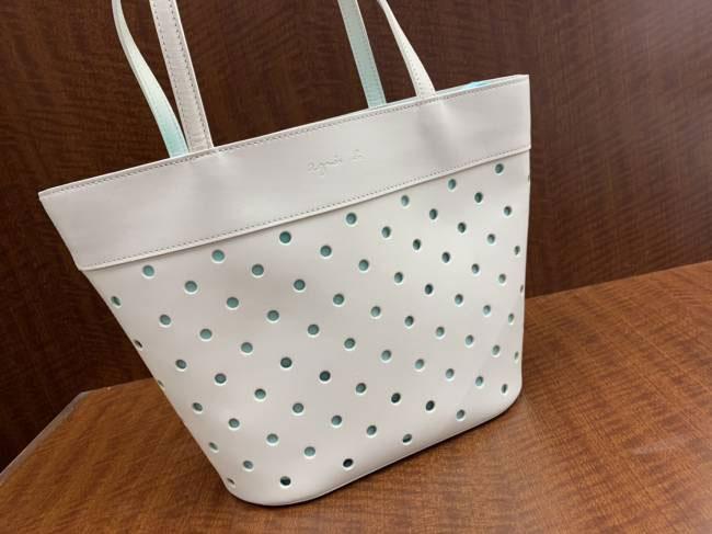 アニエスベー・巾着トートを買取 神戸 垂水店