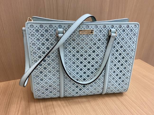 ケイトスペード・パンチング・2wayハンドバッグを買取 豊田 豊田下市場店