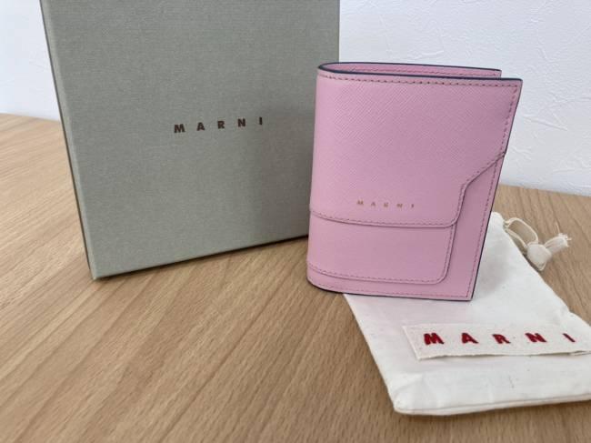 マルニ・財布を買取 東京・世田谷区 喜多見店