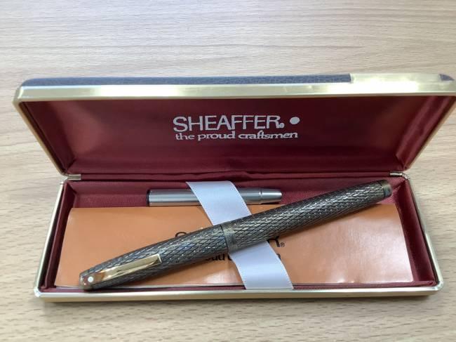 シェーファー・万年筆・SV925を買取|奈良|学園前登美ヶ丘店