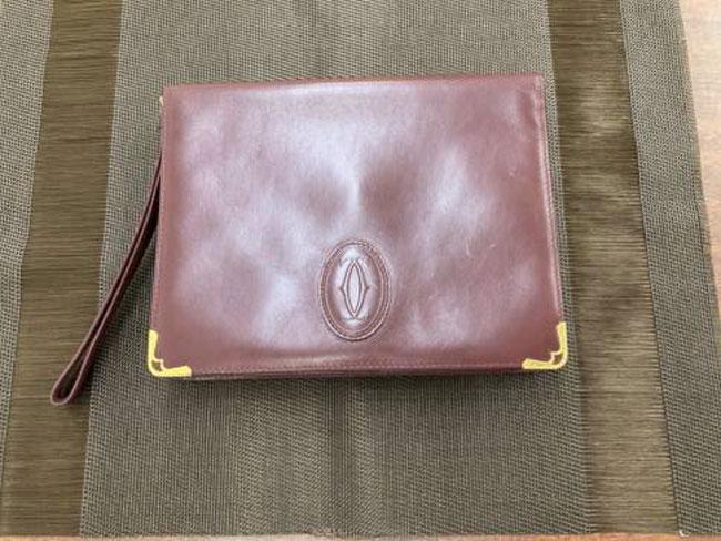カルティエ・マスト・セカンドバッグを買取|広島|広島西店