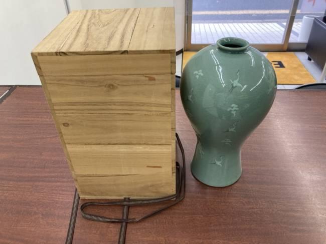 熊津金一坤・熊津窯・花瓶を買取|広島|広島西店