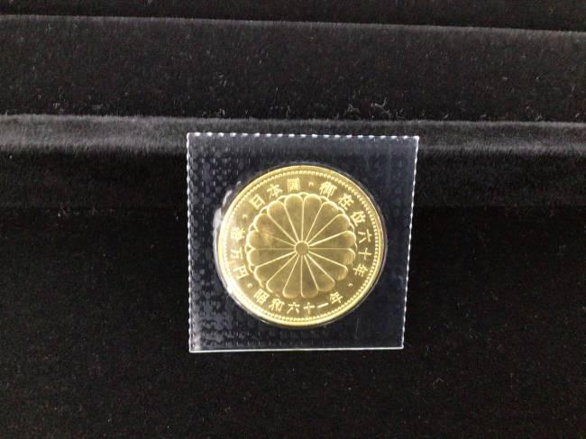 金貨・天皇陛下 御即位60周年記念10万円金貨・20gを買取|川口|西川口店