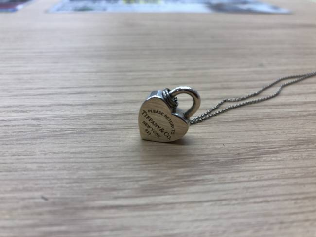 ティファニー・925・ハートロックネックレスを買取|埼玉|上尾店