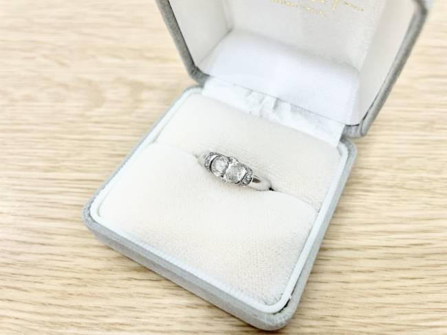 ダイヤモンド・リング・オーバルダイヤ・1.2047ctを買取|東京|広尾店