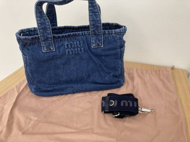 ミュウミュウ・2WAY・バッグを買取|東京・世田谷区|喜多見店