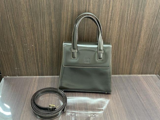 ロエベ・レザー2wayバッグを買取 名古屋 名古屋本山店